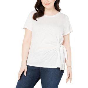 Style & Co Core Fashion Winter White Blouse 3X NWT